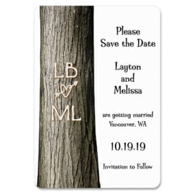 Forever Yours 1 Save The Date Magnets