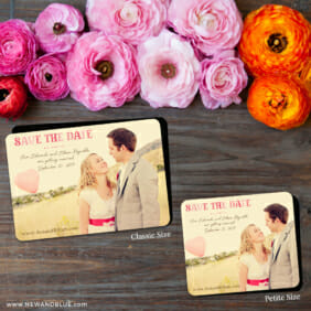 Frolic 2 Save The Date Magnet Classic And Petite Size