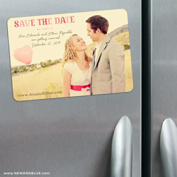 Frolic 3 Refrigerator Save The Date Magnets