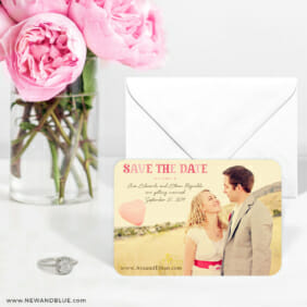 Frolic 6 Wedding Save The Date Magnets