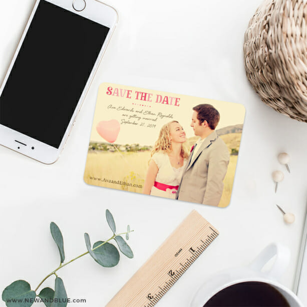 Frolic 7 Wedding Save The Date Magnets