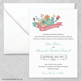 Ashland 2 Invitation And Envelope