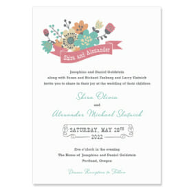 Ashland Wedding Invitation