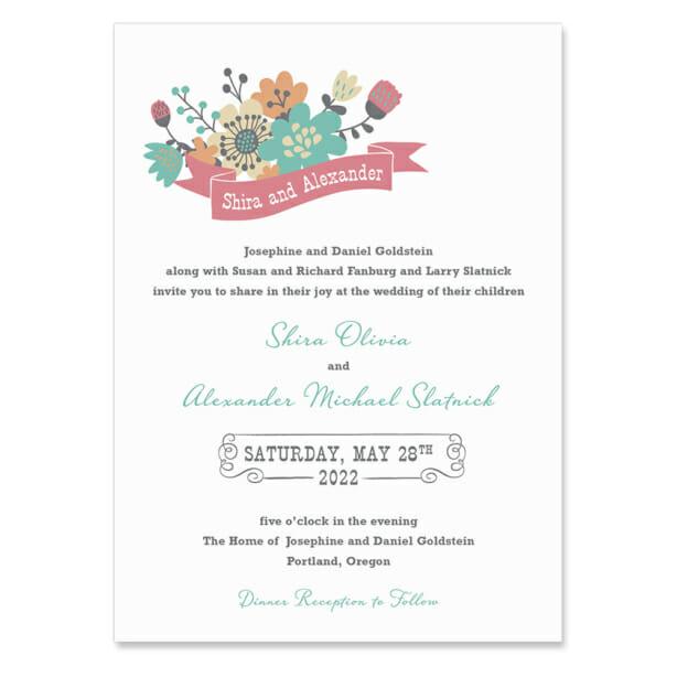 Ashland Wedding Invitation