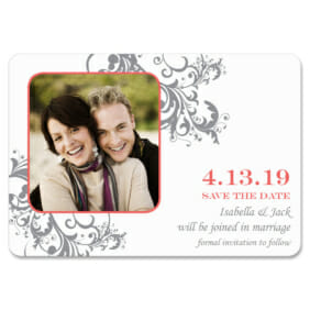 Flourish 1 Save The Date Magnets