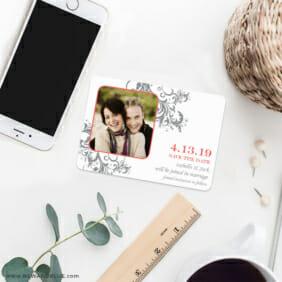 Flourish 7 Wedding Save The Date Magnets