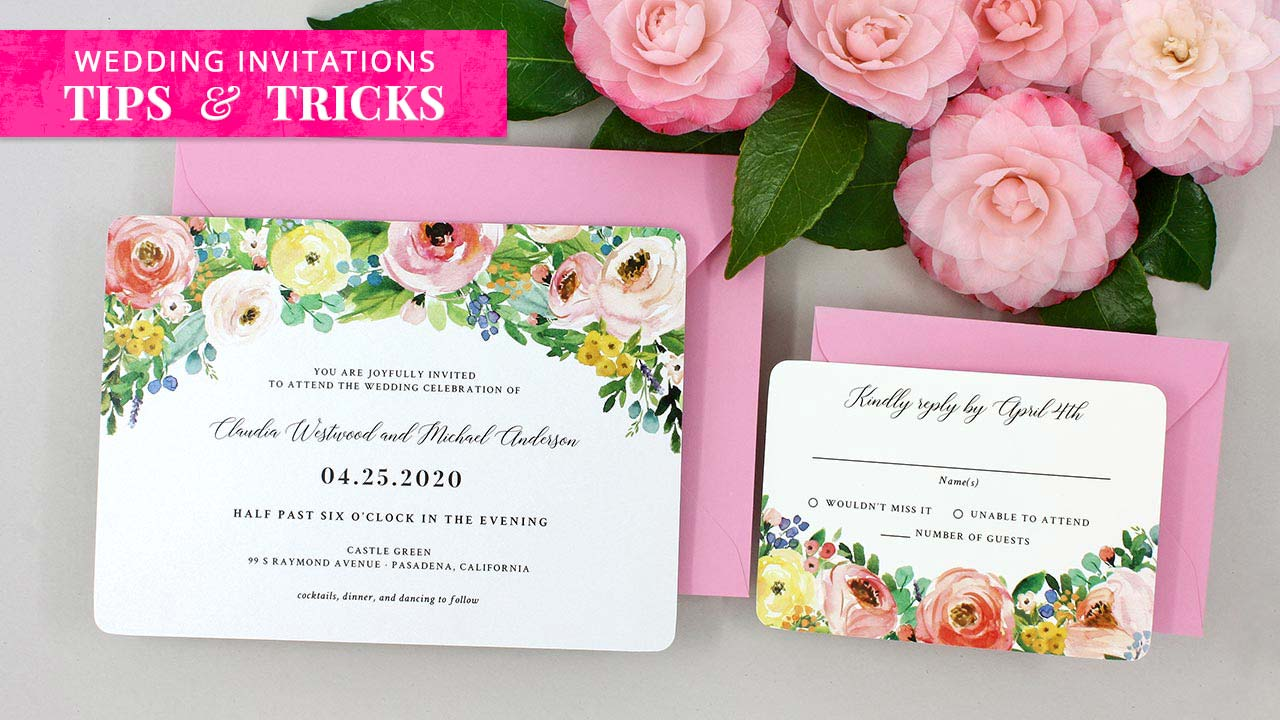Wedding Invitations Tips And Tricks1