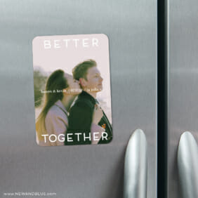 Better Together 4 Refrigerator Save The Date Magnets1