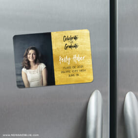 Shining Graduate 4 Refrigerator Save The Date Magnets2
