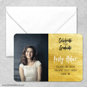 Shining Graduate 1 Save The Date Magnets