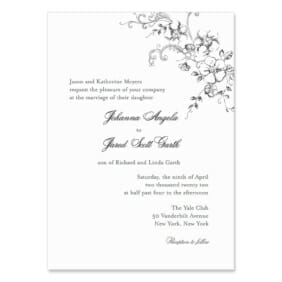 Abbey Road Wedding Invitation