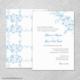 Abbey Road Ze Wedding Invitations Shown With Back Printing