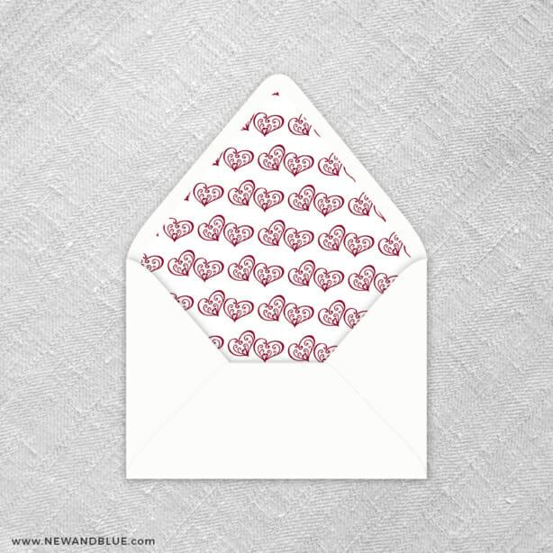 Amour 9 Envelope Liner
