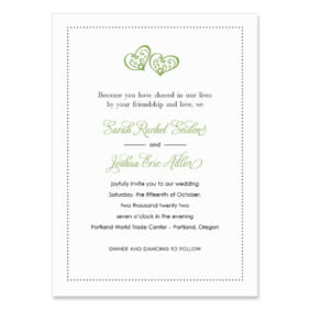 Amour Wedding Invitation
