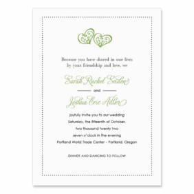 Amour Wedding Invitation