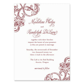 Amsterdam Wedding Invitation