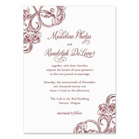 Amsterdam Wedding Invitation