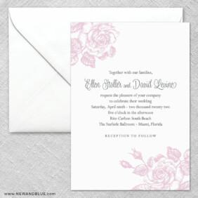 Arbor 2 Invitation And Envelope
