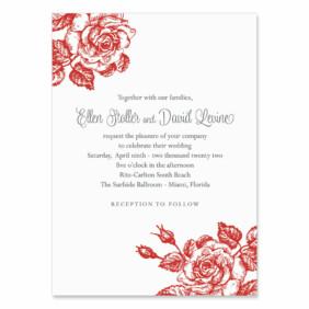 Arbor Wedding Invitation