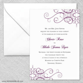 Ballroom 2 Invitation And Envelope