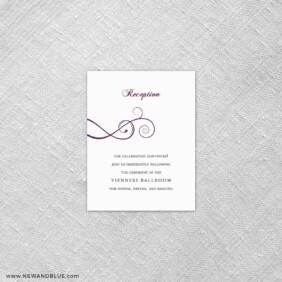 Ballroom 7 Reception Card