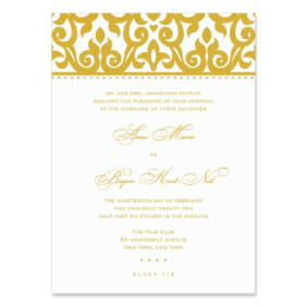 Barcelona Wedding Invitation