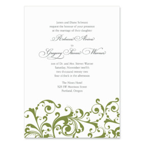 Bellini Wedding Invitation