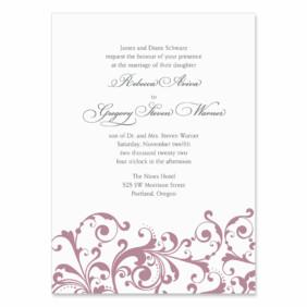 Bellini Wedding Invitation