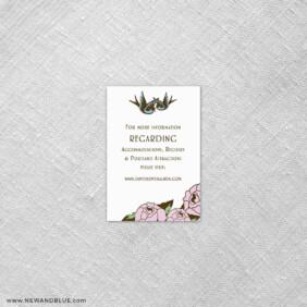 Bettie 7 Reception Card
