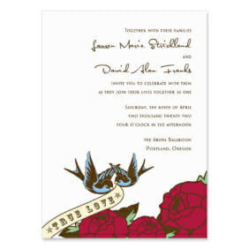 Bettie Wedding Invitation