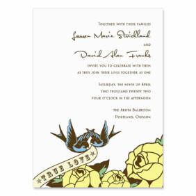 Bettie Wedding Invitation