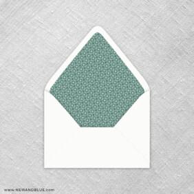 Botanical 9 Envelope Liner