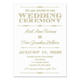 Calliope Wedding Invitation