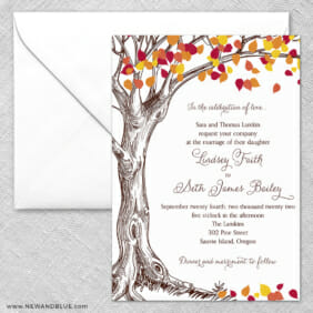 Celebration Of Love 2 Invitation And Envelope