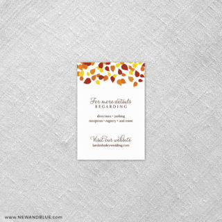 Celebration Of Love 7 Reception Card
