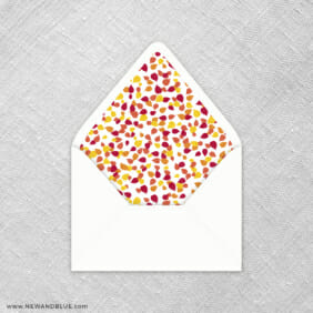 Celebration Of Love 9 Envelope Liner