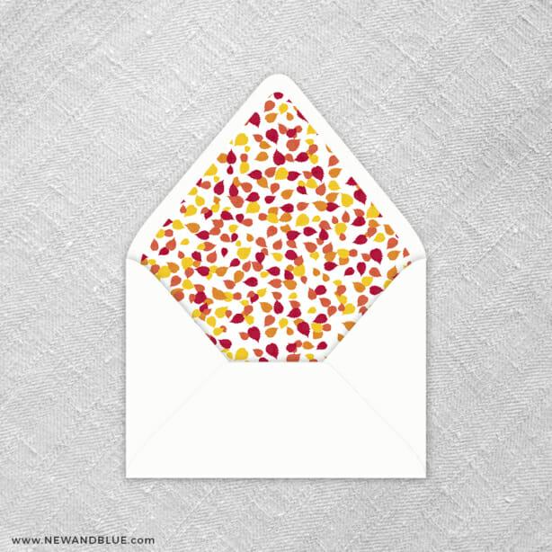 Celebration Of Love 9 Envelope Liner