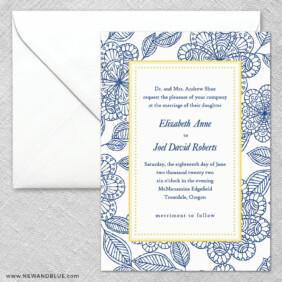 Charlotte 2 Invitation And Envelope