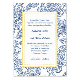 Charlotte Wedding Invitation