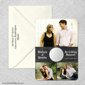 Our Special Spot 4 Scratch Off Save The Date With Optional Color Envelope1