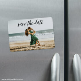 Over The Moon 4 Refrigerator Save The Date Magnets