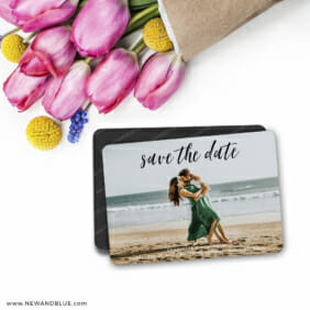 Over The Moon 7 Wedding Save The Date Magnets