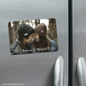 Seabrook 4 Refrigerator Save The Date Magnets