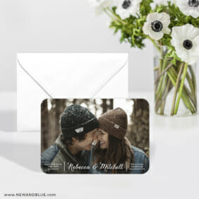 Seabrook 6 Wedding Save The Date Magnets