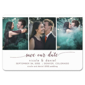 Triptych Of Love 1 Save The Date Magnets