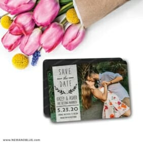 Westerly 7 Wedding Save The Date Magnets
