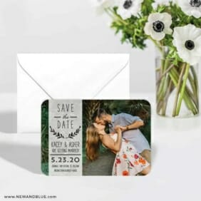 Westerly 6 Wedding Save The Date Magnets