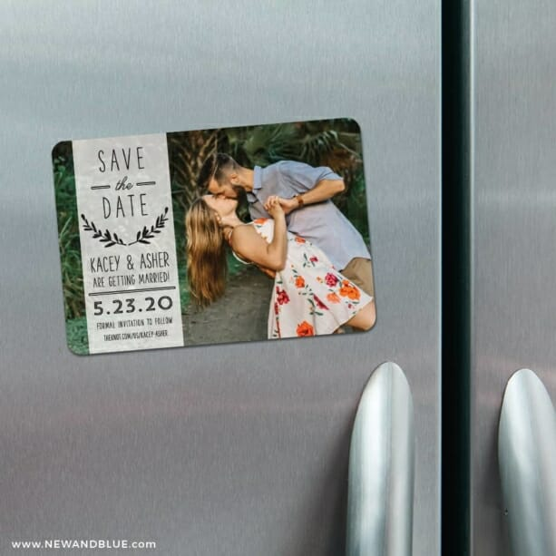 Westerly 4 Refrigerator Save The Date Magnets