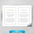 Skamania All Inclusive Wedding Invitations 7