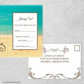 Kona All Inclusive Rsvp Postcard
